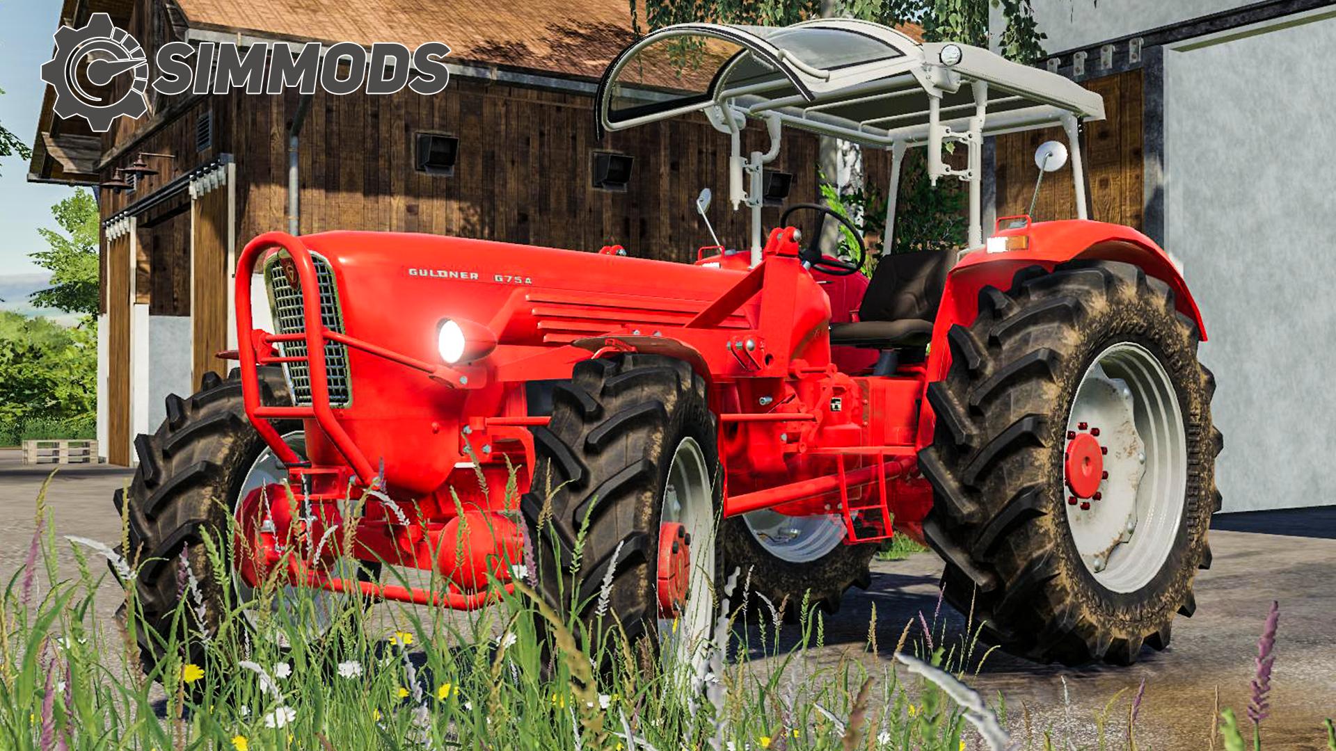 LS19: Güldner G75A Oldtimer-Traktor – DOWNLOAD