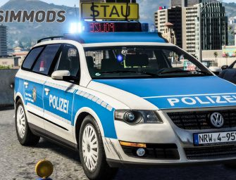 GTA 5: VW Passat B6 Variant Polizei NRW – DOWNLOAD