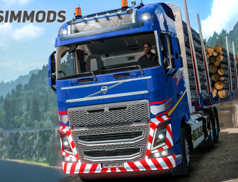 ETS 2: Level Bergen – Gefährliche Straße in Bergen – DOWNLOAD