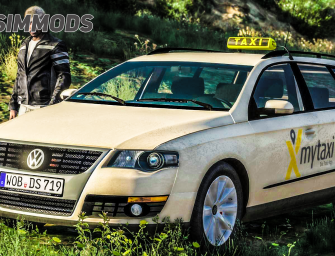 GTA 5: Taxi Passat B6 Variant – DOWNLOAD