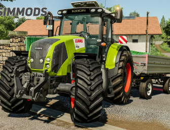 LS19: Claas Axion 800 Series – DOWNLOAD
