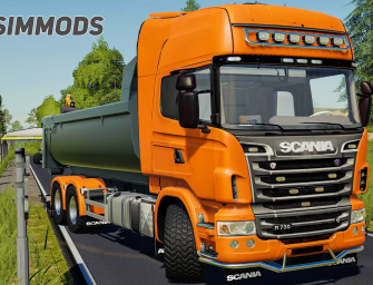 LS19: Scania R-Series Hooklift/Hakenlift – DOWNLOAD
