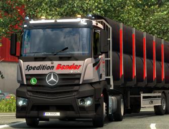 ETS 2: Mercedes-Benz Antos – DOWNLOAD