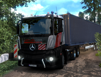 ETS 2: Creative Zone Trucking Map – DOWNLOAD