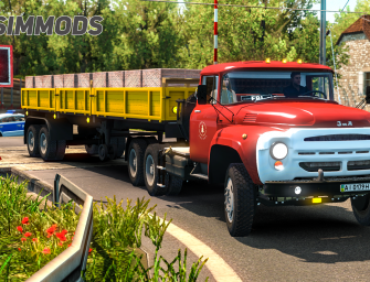 ETS 2: ZIL 130-131-133 Oldtimer Truck – DOWNLOAD