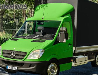 LS19: Mercedes-Benz Sprinter PICKUP – DOWNLOAD