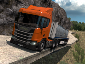 ETS 2: Dangerous Roads-Map Hondulandia – DOWNLOAD