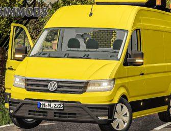 LS19: VW Crafter Begleitfahrzeug – DOWNLOAD