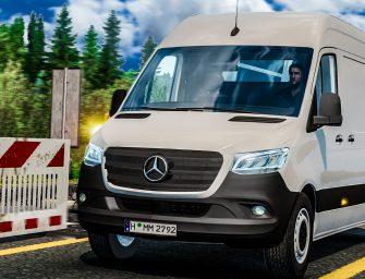 ETS 2: Mercedes Sprinter 2019 Beta 0.2 – DOWNLOAD