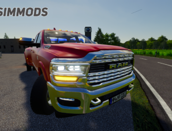 LS19: Dodge RAM 3500 HD Limited Dually – DOWNLOAD