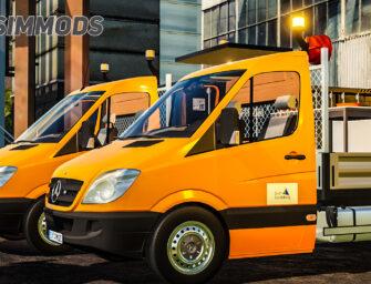 LS19: Mercedes-Benz Sprinter – Kommunalfahrzeuge – DOWNLOAD