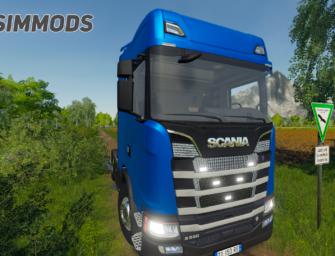 LS19: Scania S580 – DOWNLOAD