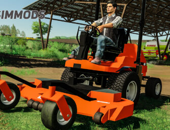 LS19: Kubota F3060 Rasenmäher – DOWNLOAD