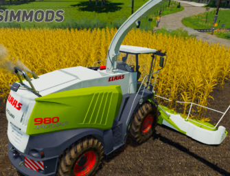LS19: Claas Jaguar 900 Type 496 – DOWNLOAD