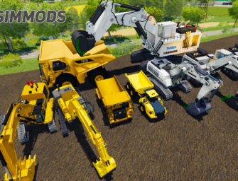 LS19: Excavator & Dumpers Pack – DOWNLOAD