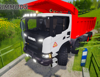 LS19: Scania XT 8×8 Mining Truck – DOWNLOAD