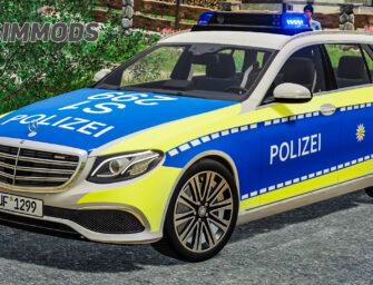 LS19: Mercedes-Benz E-Klasse – Polizei Ruffach – DOWNLOAD