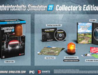 LS22: Das steckt in der Farming Simulator 22 Collector's Edition!